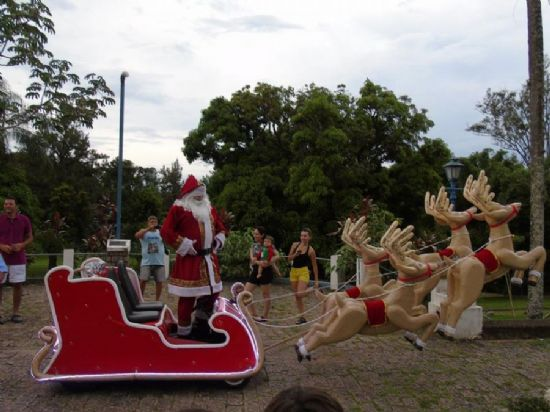 Trenzinho do Papai Noel